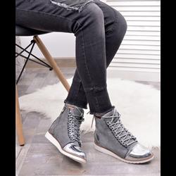 Sandały koturny Kirsi białe