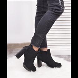 Sandały koturny Kirsi panterka