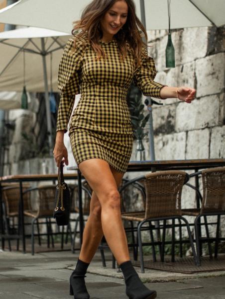 Sukienka w kratkę Kimi...
