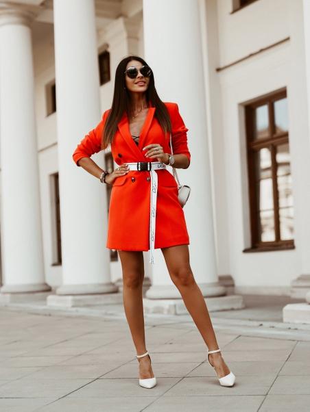 Elegancka sukienka z...