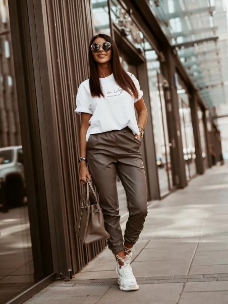 Spodnie Leather Autumn...