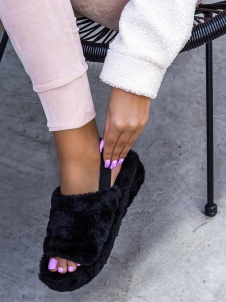 Kapcie sandały pluszowe...