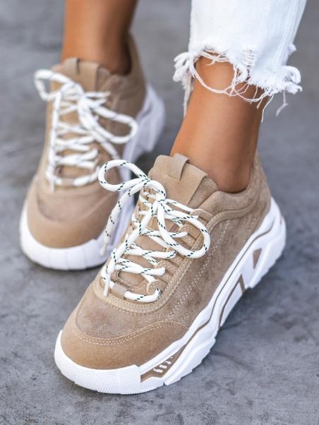 Buty sportowe zamszowe...
