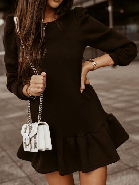 Sukienka z falbaną Cotton...