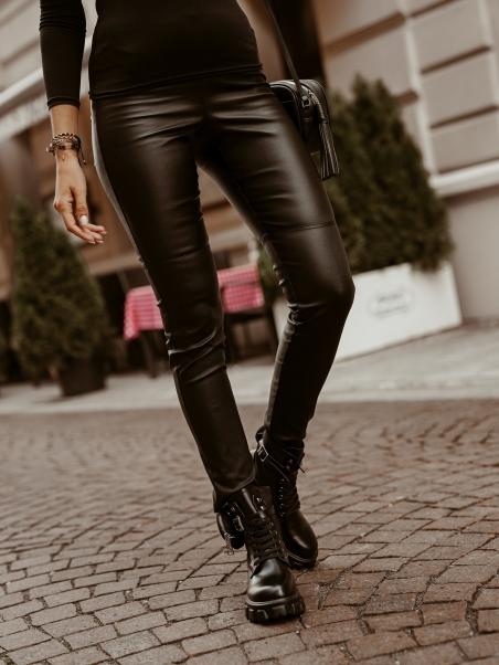 Spodnie skórzane modelujące...