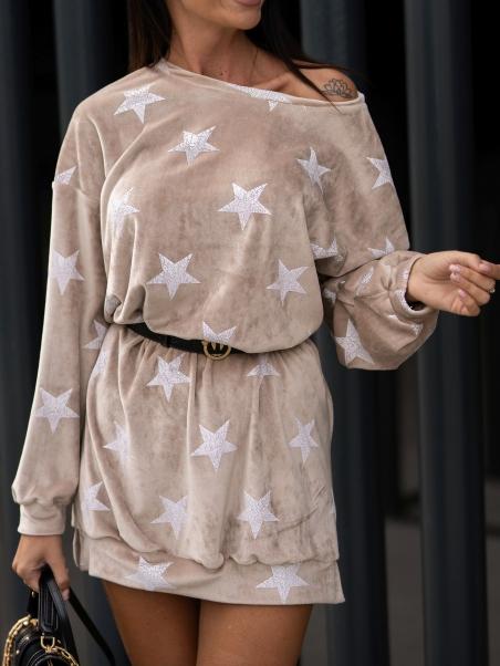 Bluza tunika w gwiazdy...