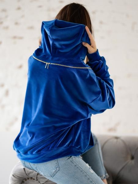 Bluza z suwakami Decor...