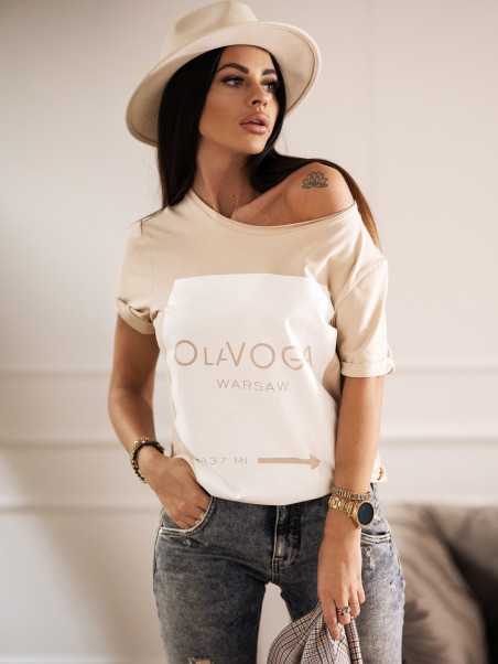 T-shirt bawełniany O La...