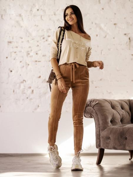 Spodnie elastyczne Mellow...