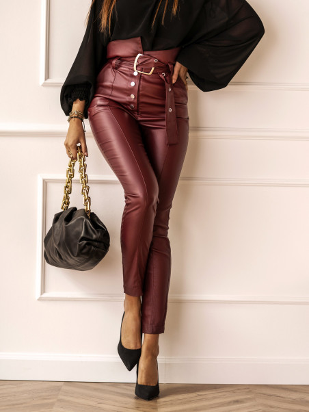 Spodnie eleganckie z...