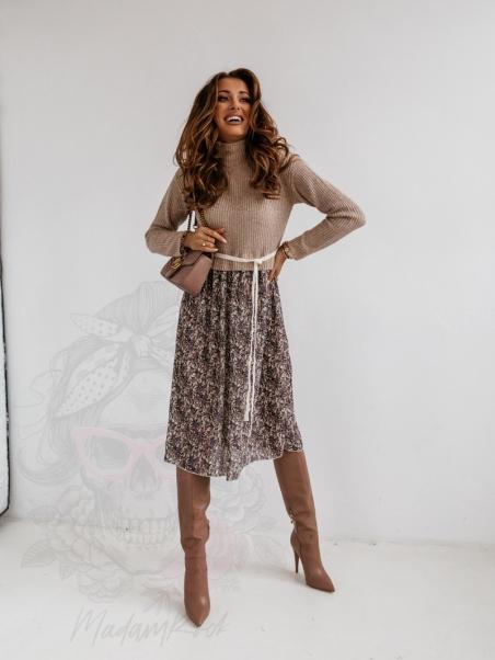 Sukienka sweterek MeLike...