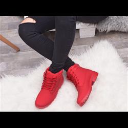 Szare sneakersy z suwakami