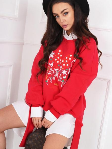 Bluza świąteczna Madam...