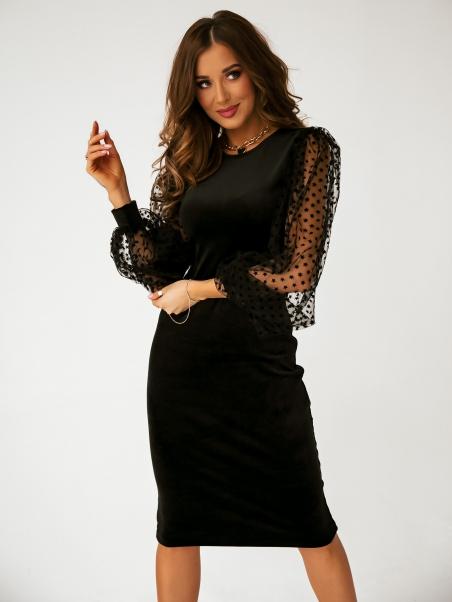 Sukienka z tiulowymi...