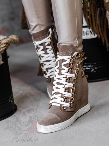 Sneakersy damskie Booci...