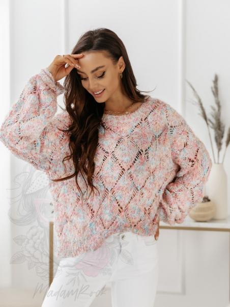 Sweter kolorowy Madam...
