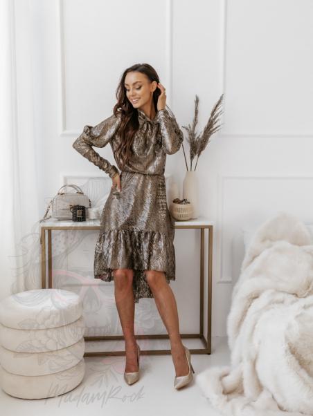 Sukienka asymetryczna Shine...