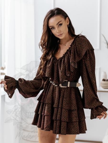 Sukienka w listki October...