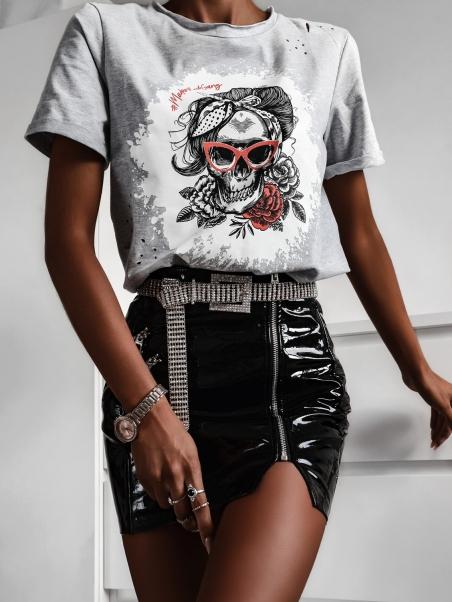 T-shirt bawełniany Madam...