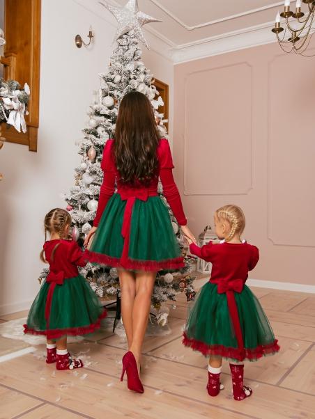 Sukienka z tiulem Mix Color...