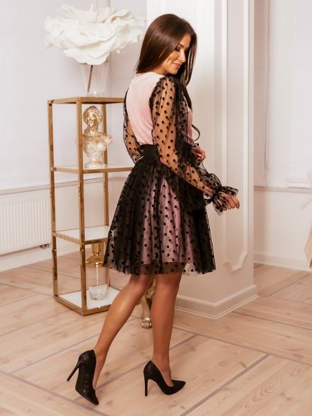 Sukienka z tiulem Dots...