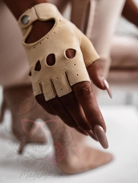 Rękawiczki bez palców...