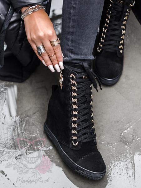 Sneakersy zamszowe Suede...