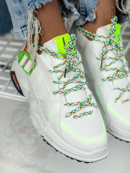 Buty sportowe Madam Gamp białe