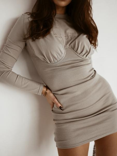 Sukienka dopasowana Ribbed...