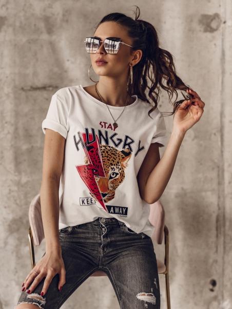 T-shirt bawełniany Stay...