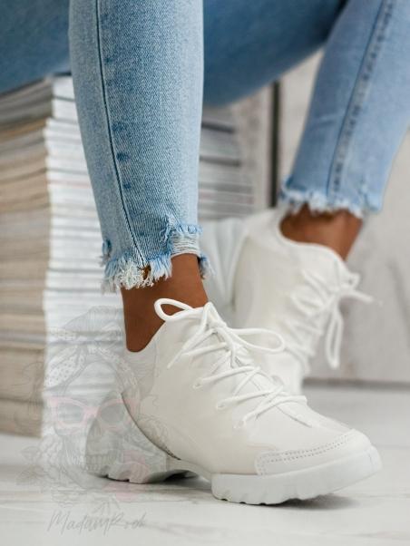 Buty sportowe Madam Elsz białe
