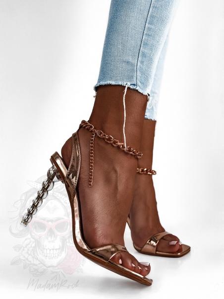 Sandały szpilki Madam Buble...