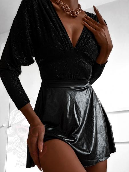 Body Glitter Shine czarne