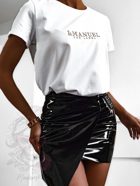 T-shirt damski LaManuel biały