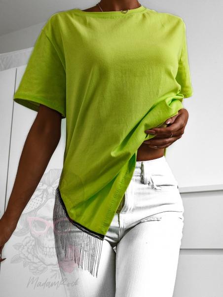 T-shirt oversize z...