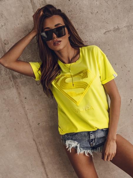 T-shirt haftowany Super...