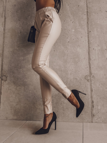 Spodnie skórzane wyższy...