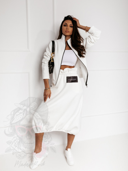 Bluza dresowa Legend biała