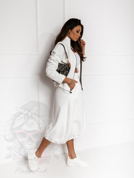 Spódnica dresowa Legend biała