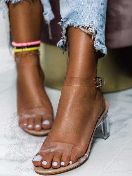 Sandały transparentne Madam...