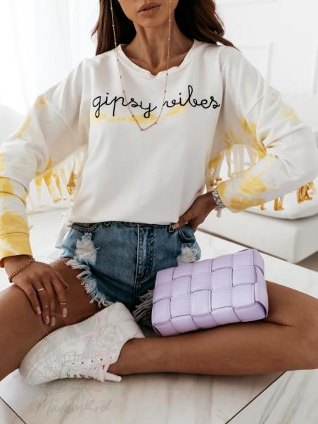 Bluza z frędzlami Vibes'y...