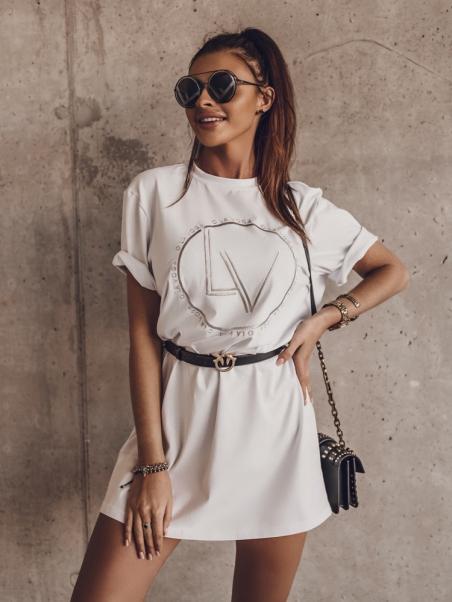T-shirt bawełniany LV Ring...