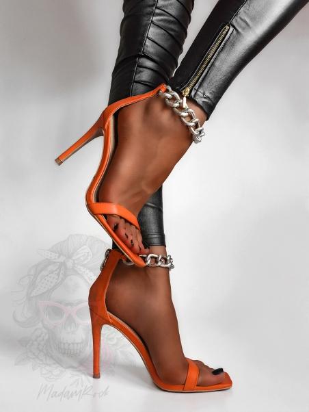 Sandały szpilki Rock Meggan...