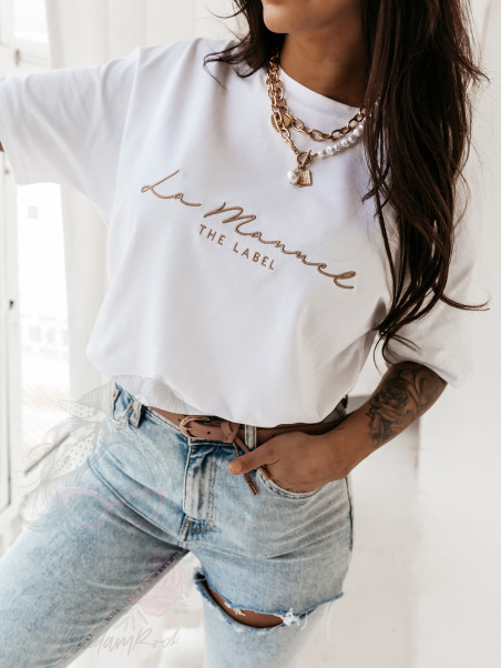 T-shirt oversize Milky La...