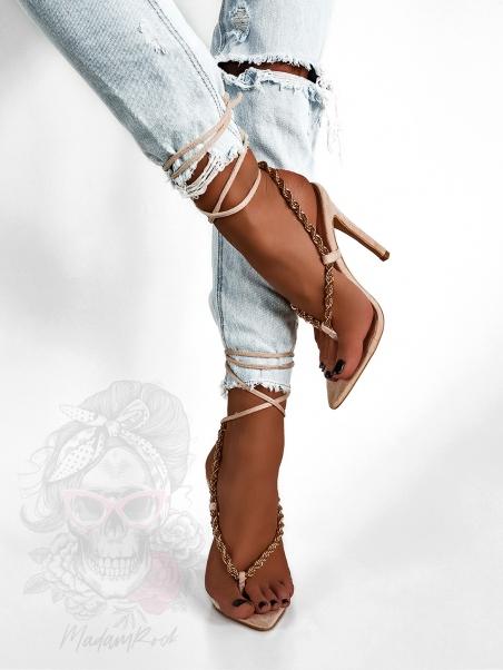 Sandały szpilki Hasty Rock...