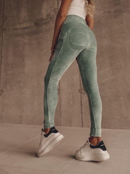 Spodnie dopasowane Push Up...