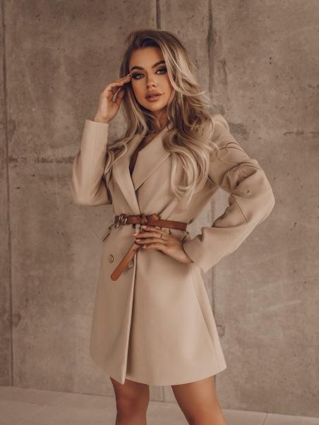 Płaszcz elegancki 2w1...