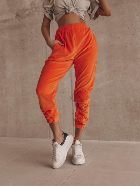 Spodnie welurowe Fancy...