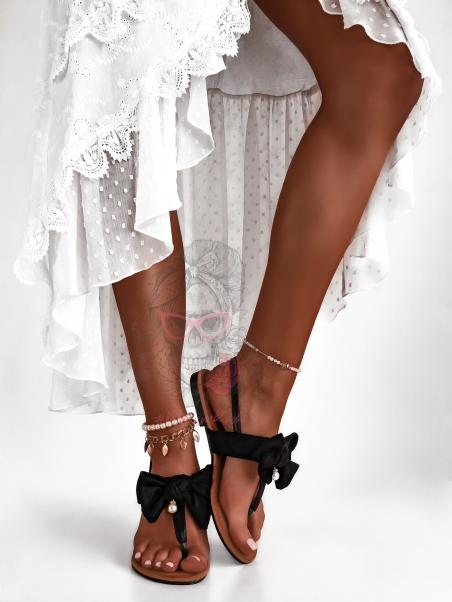 Sandały płaskie Madam...