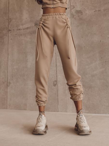 Spodnie dresowe Twine beżowe